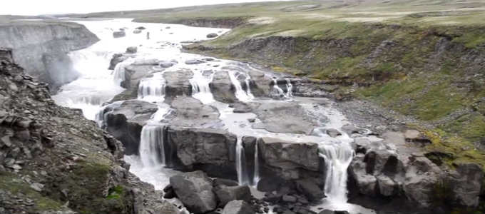Last chances to see what is perhaps the most stunning waterfall in Iceland