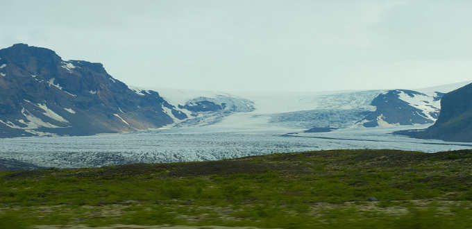 The setting of some scenes of the movie Interstellar. PIC Winston McLeod