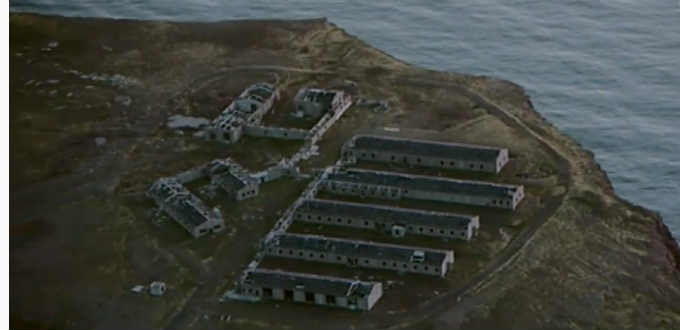 Still standing after all these years. Old barracks of the US Army from the Cold War days. PIC Ruv