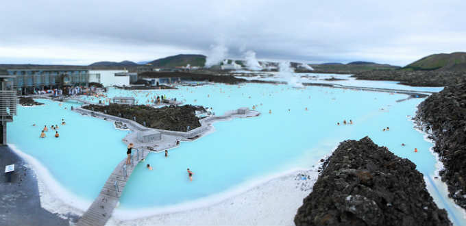 The blue lagoon of today. The pic is taken approximately from the spot where a modern hotel will rise in 2015. Pic Chris Yiu
