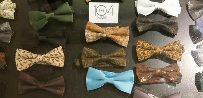 A bow tie made of fish making waves in Iceland