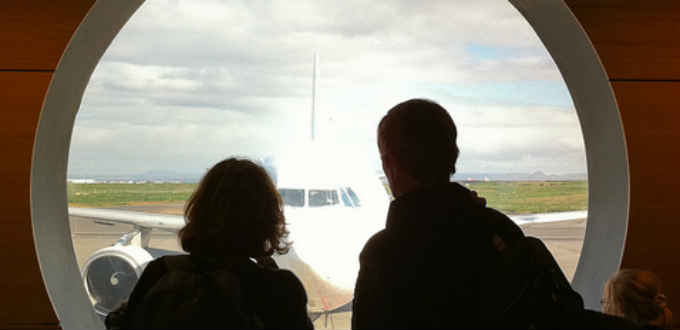 Nope! You´re not flying into Reykjavik airport in Iceland