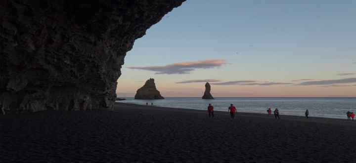 Staying safe on the black beaches and glaciers of Iceland