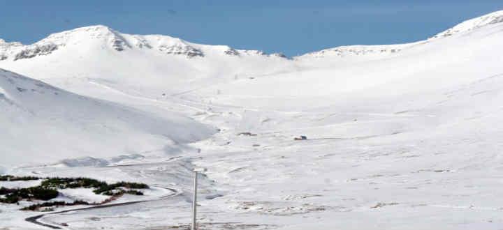At Siglufjordur, nice skiing but not best ski area you´ve never heard of