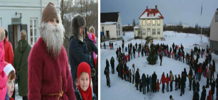 Traditions from times past and Yule Lads to boost. PIC Árbæjarsafn