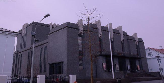Three very remarkable buildings in Reykjavik